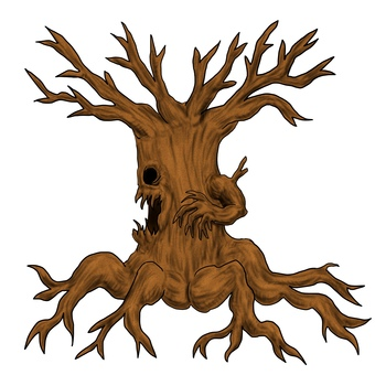 Withered tree monster torrent, sideways