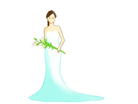 Bride dress mermaid
