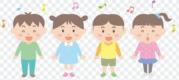 兒童歌曲的招募