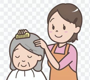 福利美髮師