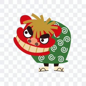 Shishimai illustration