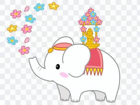 花節的大象
