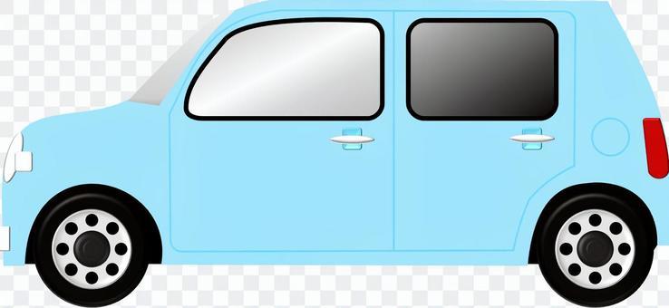 汽车(蓝色)