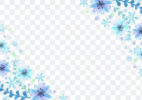 季節材料067冰花