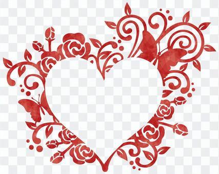 Decorative frame / heart