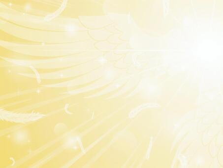 輝く翼の放射状背景2