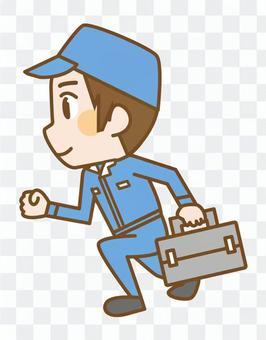Running workers