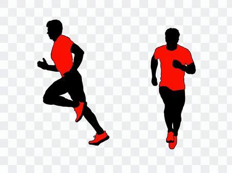 Runner silhouette 6