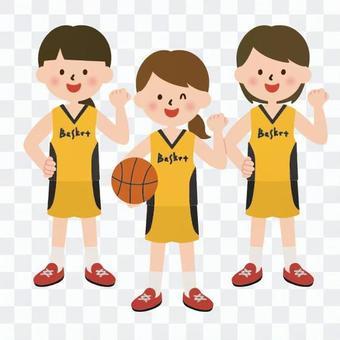 バスケ部の女の子たち