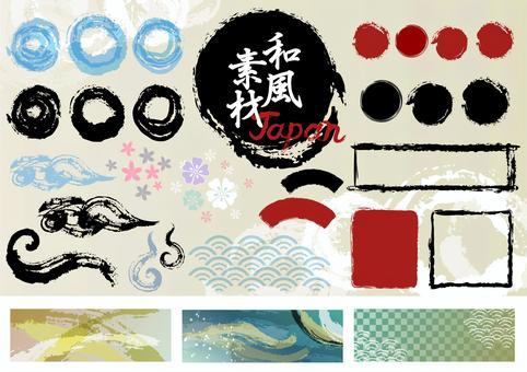 日本圖案素材005各種套裝