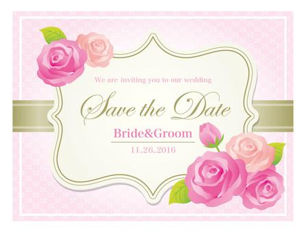婚礼邀请材料1