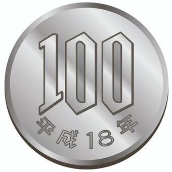 錢·100日元硬幣