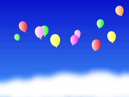 天空和氣球