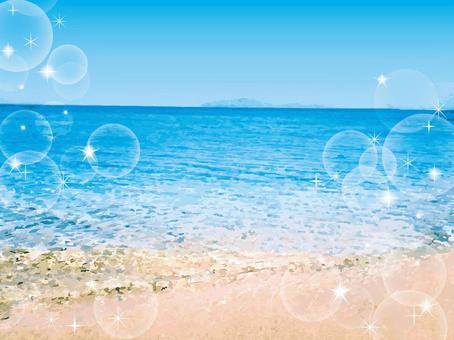 海波動圖式水錶面海表面背景手段熱帶海灘