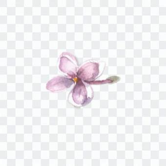 Small Flower 10 - Lilac