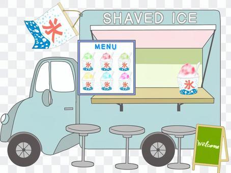 刨冰店(手機售賣車)