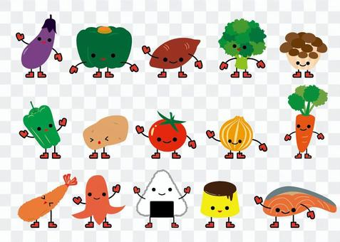 食べ物キャラクター