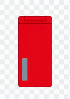 Mobile phone (red)