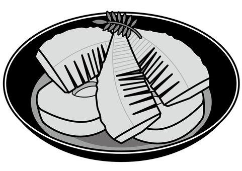 水煮竹筍土佐-2c