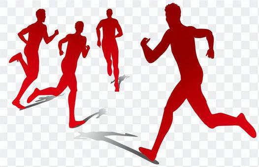 跑步者/有點不尋常的影子·影子畫
