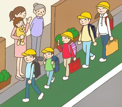 學校景觀帽子可用