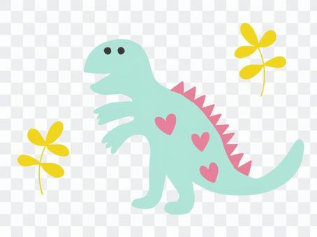 Dinosaurs Tyrannosaurus colorful cute