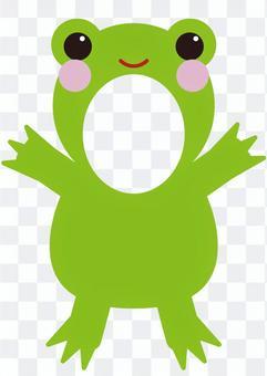 角色/臉鞍(青蛙)