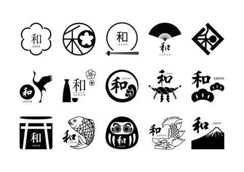 日本味標記(黑色)