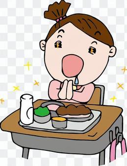 Hana-chan 14-7午餐