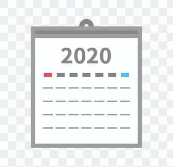 日曆圖標2020簡單