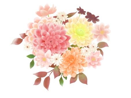 大麗花花束