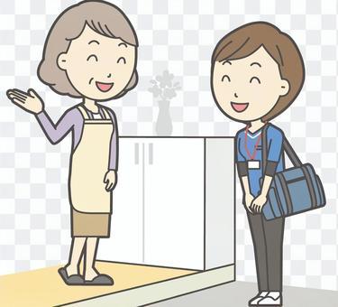 Home-visit nurse-006-set
