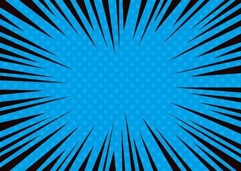 濃縮線·效果線☆點圖案背景材料