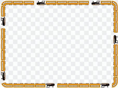 机车装饰框架