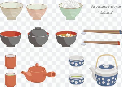 各種日式菜餚