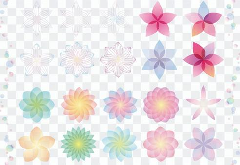 Flower parts material