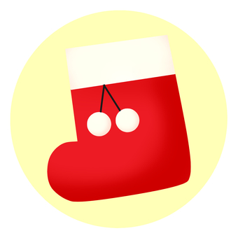 Christmas boots icon
