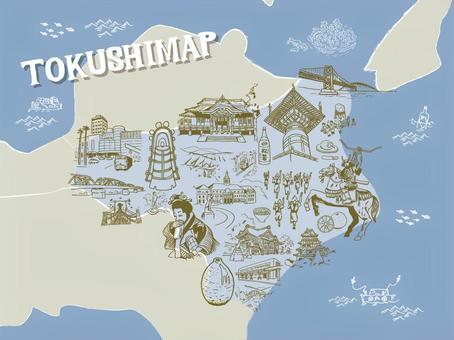 TOKUSHIMAP