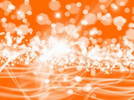 閃爍的橙色