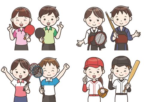 Club activity illustration 17