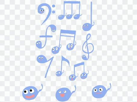 Musical note tadpole