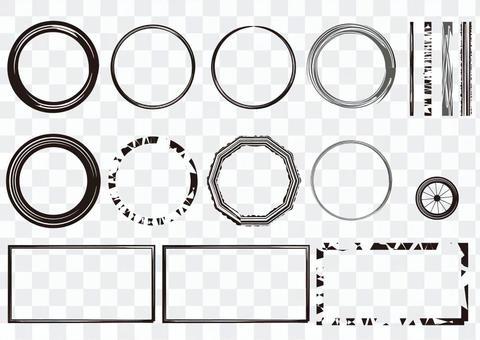 輪胎框架各種材料的收集