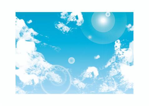 天空和雲彩03