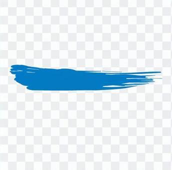 很快人們漆成藍色