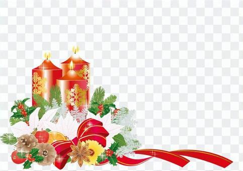 聖誕節安排紅金