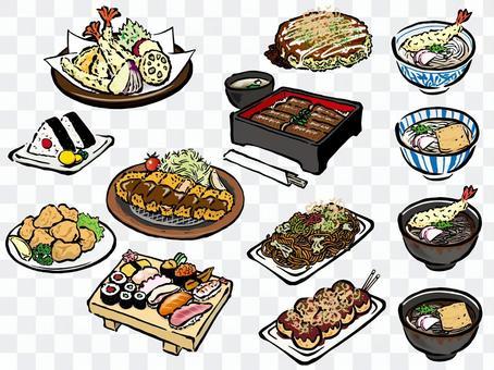 食物菜單設置1
