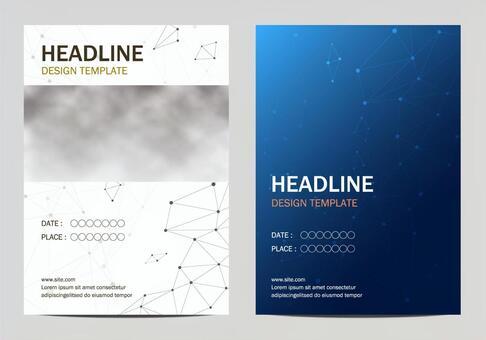Poster template set