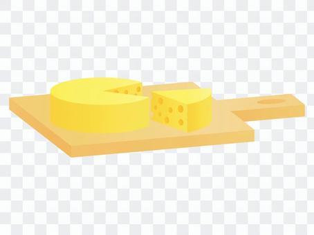 エメンタールチーズ チーズボード