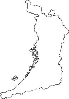 Osaka fu line drawing