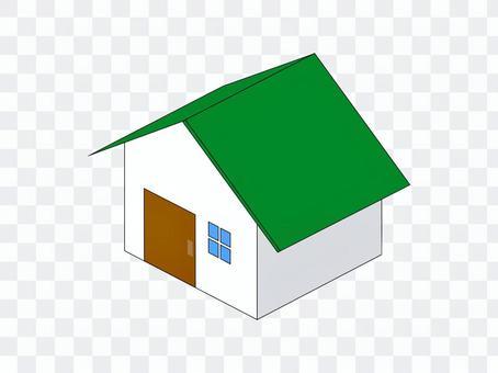 家庭新建二手綠色